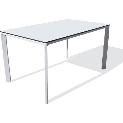 TABLE MEET 160X90 BLANC - EZPELETA