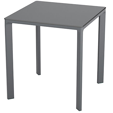 TABLE MEET 70X70 ANTHRACITE - EZPELETA