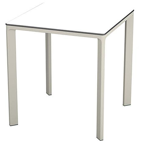TABLE MEET 70X70 BLANC - EZPELETA