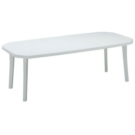 Table Miami 220x100cm Blanc