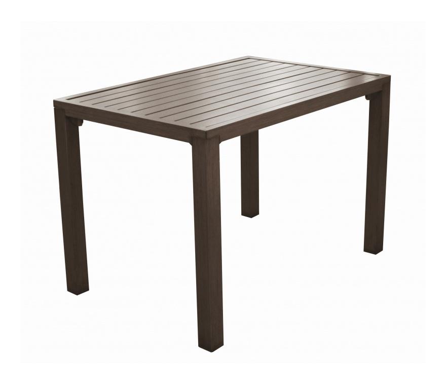 Table Milano 110 Brun - Proloisirs