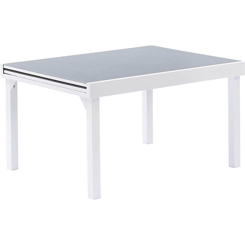 Table jardin Modulo 6 à 10 personnes Blanc - Blanc
