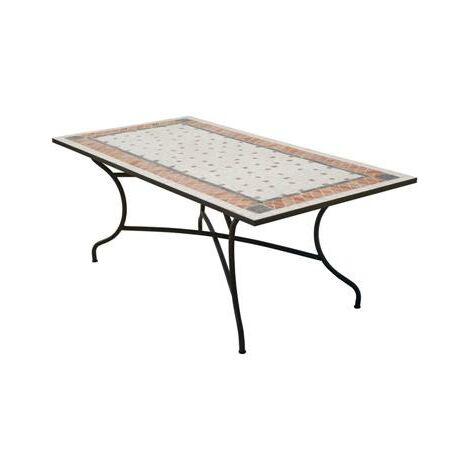 TABLE mosaïque ROLAND200 rectangulaire 200x100