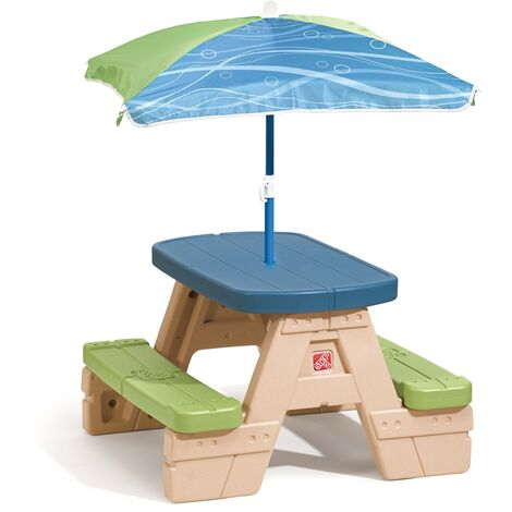 Table picnic Sit and Play avec parasol