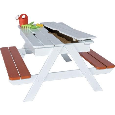 Table PICSAND Enfant avec Bac à Sable intégré