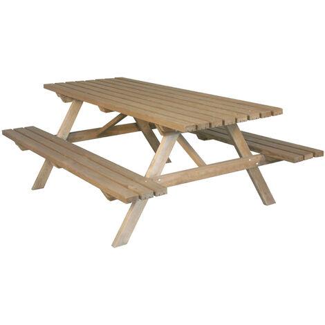 Table pique nique | 200 x 150 cm