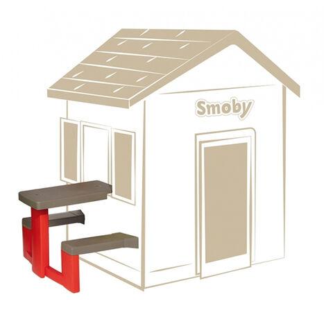 Table pique-nique pour cabane enfant Jura Lodge - Smoby