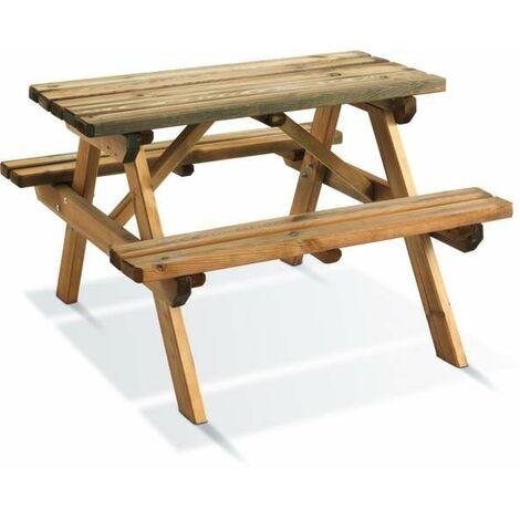 Table pique-nique WAPITI pour enfants