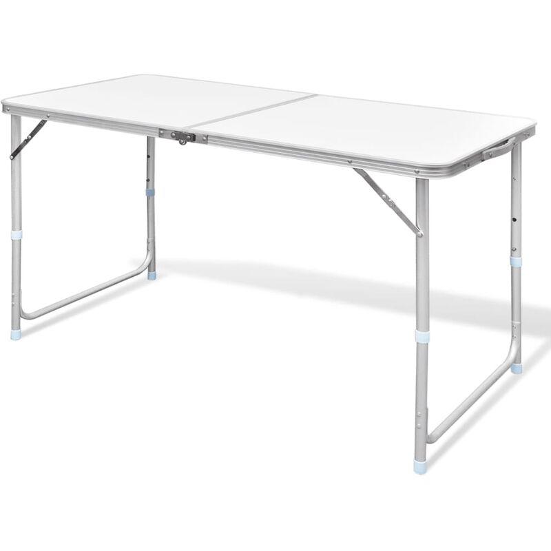 Pliable Aluminium Cm Camping De 120x60 Hauteur Réglable Table 2EY9IHeWD