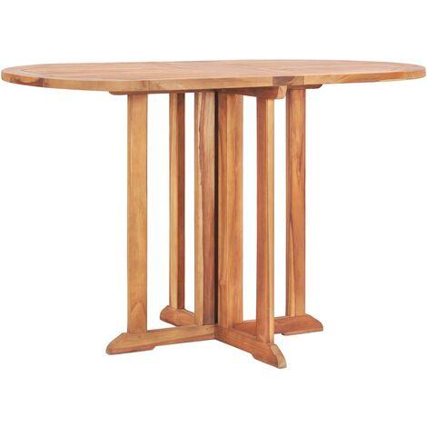 Table pliable de jardin papillon 120x70x75 cm Bois teck solide