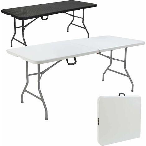 Table pliable pliante de camping buffet portable 180 cm