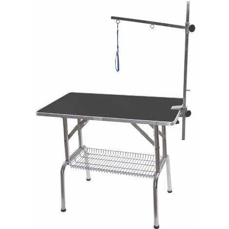 Table pliante à potence simple (sans roulettes)