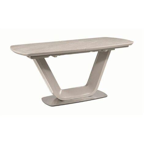 """main image of """"Table pliante - Armani - L 90 x l 220 x H 76 cm - Gris - Livraison gratuite"""""""