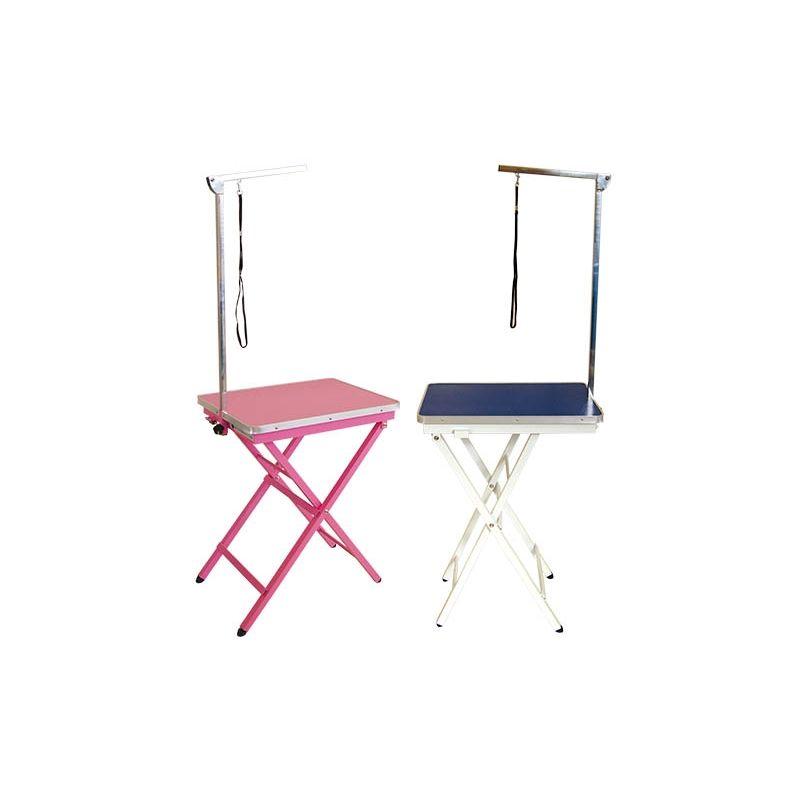 Table pliante avec fourchette TABLE FOLDABLE TABLE ROSE AVEC Fourchette