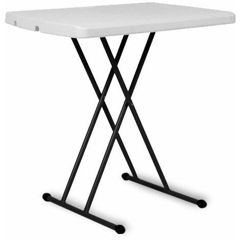 Table pliante avec hauteur adaptable