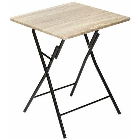 Table pliante carrée
