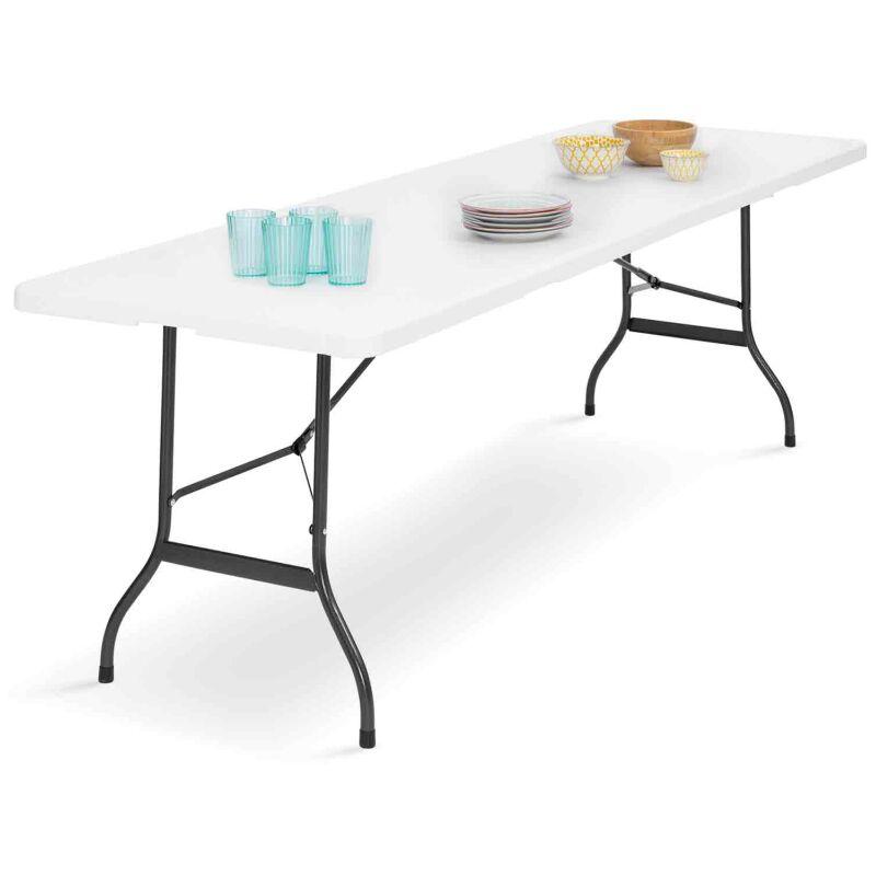 Table d'appoint pliante 180 cm portable camping pour réception ou yY6gmvbf7I