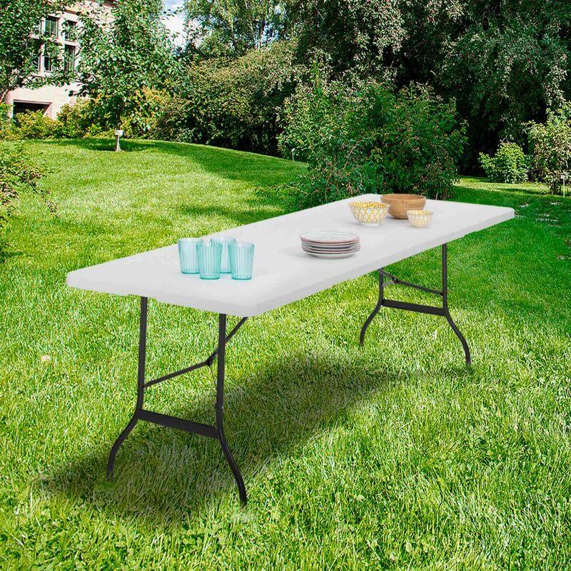 pour réception 180 Table pliante portable camping d'appoint cm ou j34q5RLA
