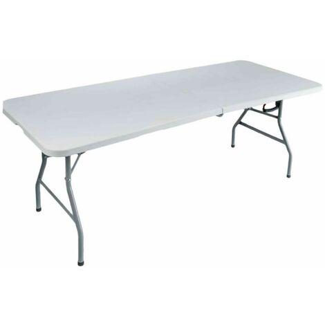Table pliante rectangulaire 180 x 75 x 74 cm