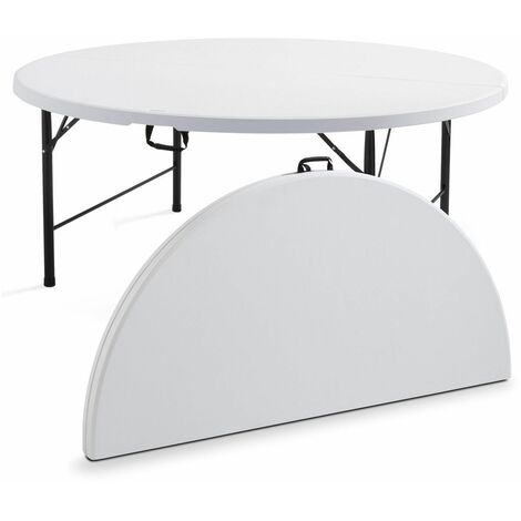 Table pliante ronde 10 personnes
