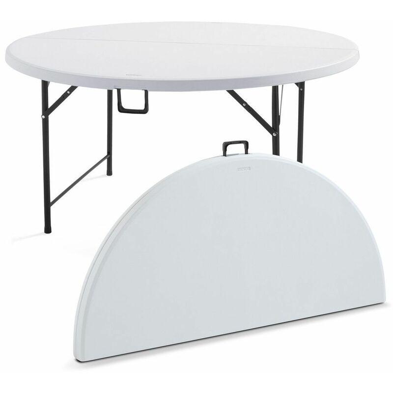 Table Ronde 8 Personnes.Table Pliante Ronde 8 Personnes