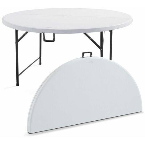 Table pliante ronde 8 personnes - 101263
