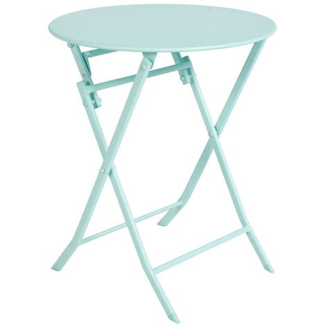 Table pliante ronde Greensboro - 2 Places - Mint - Vert anis