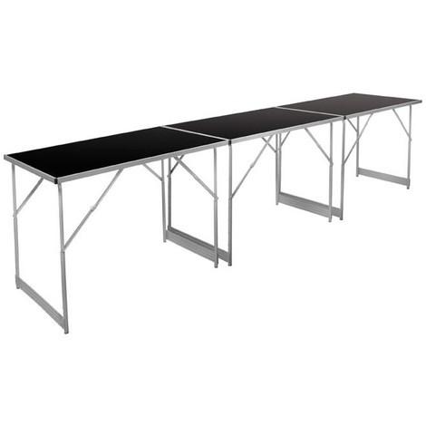 Table polyvalente ECO ALU,3 pièces1010x620x850