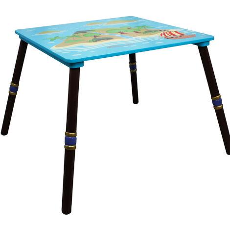 Table pour chambre enfant ou bébé mixte garçon Pirate Island Fantasy Fields TD-11593A1