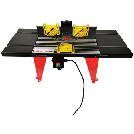 Table pour défonceuse aluminium - RONDY