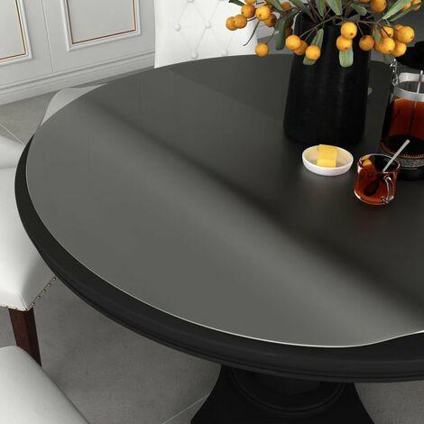 Table Protector Translucent 脴 80 cm 2 mm PVC