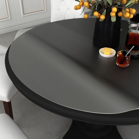 Table Protector Translucent Ø 90 cm 2 mm PVC
