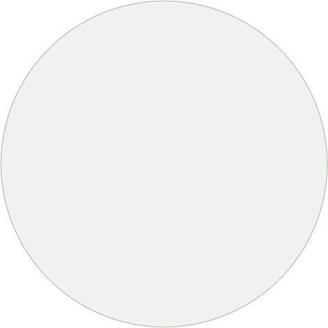 Table Protector Transparent Ø 80 cm 2 mm PVC