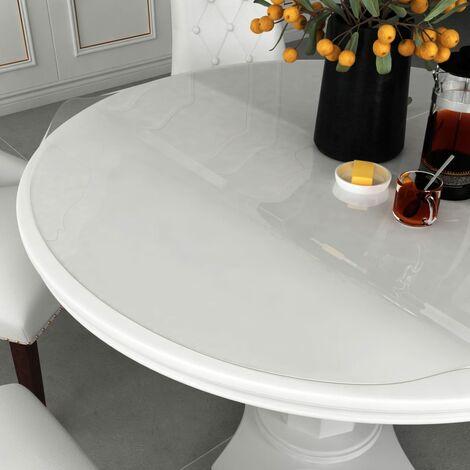 Table Protector Transparent 脴 90 cm 2 mm PVC