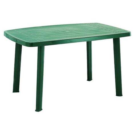 TABLE RECTANGULAIRE 140CM FARO VERT