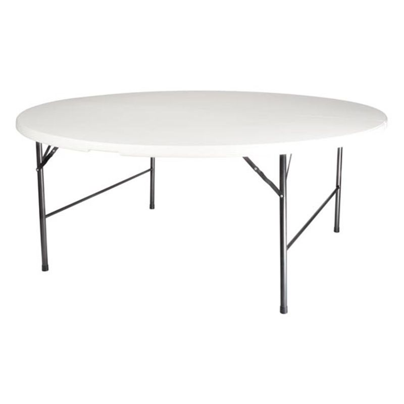 Table Ronde Pliante - Ø 180 Cm