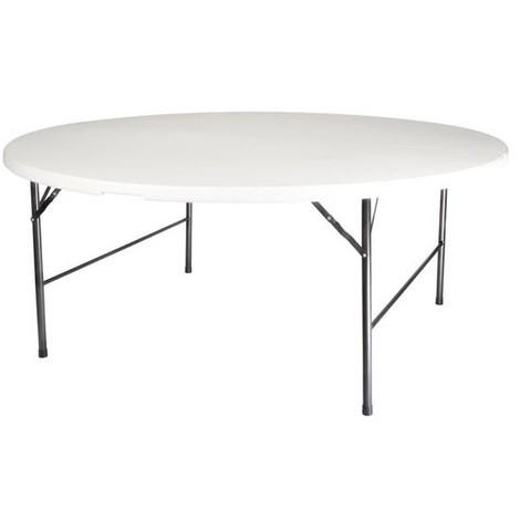 Table Ronde Pliante O 180 Cm Vellfp172