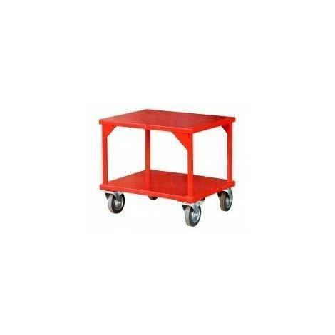Table roulante charges lourdes55x70cm h65cm