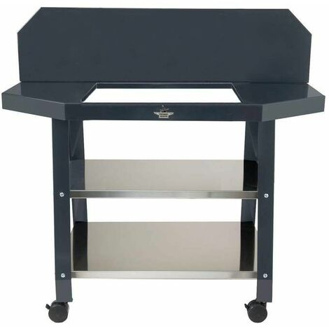 Table roulante pour grill encastrable 918.56 forge adour