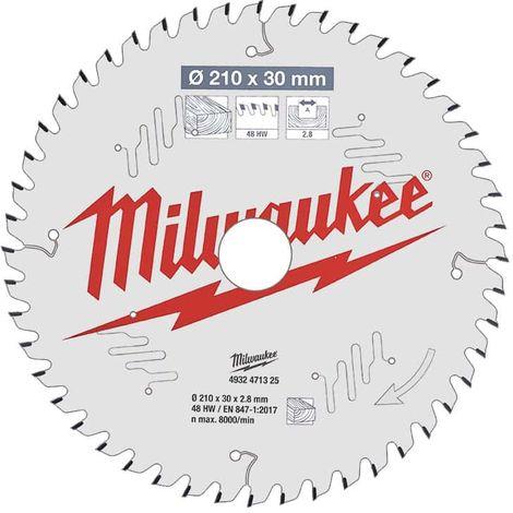 Table saw blade MILWAUKEE 48 teeth 2.8x210mm 4932471325