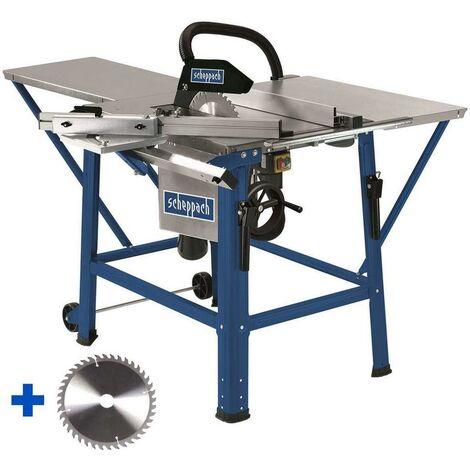 TABLE SCIE CIRCULAIRE SCHEPPACH TS310 315MM 2200W 230V + LAME DE RECHANGE