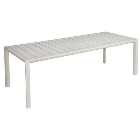 TABLE SUNSET ALU 220X90CM BLCGLACIER