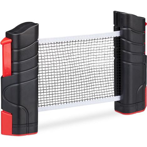 "main image of ""Table Tennis TT Net Ping Pong Net Retractable Portable Clamp Bracket"""