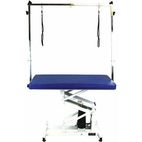 Table toilettage hydraulique Hera Bleue