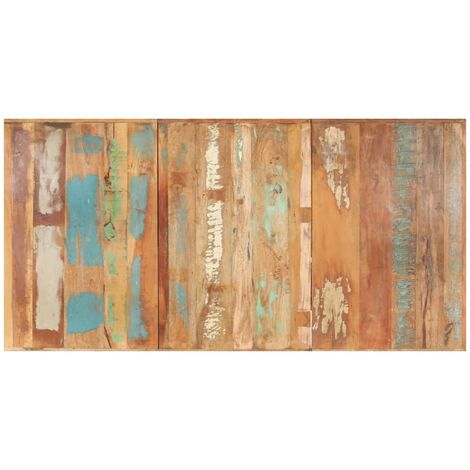 Table Top Solid Reclaimed Wood 16 mm 180x90 cm