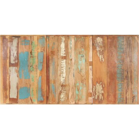 Table Top Solid Reclaimed Wood 16 mm 200x100 cm