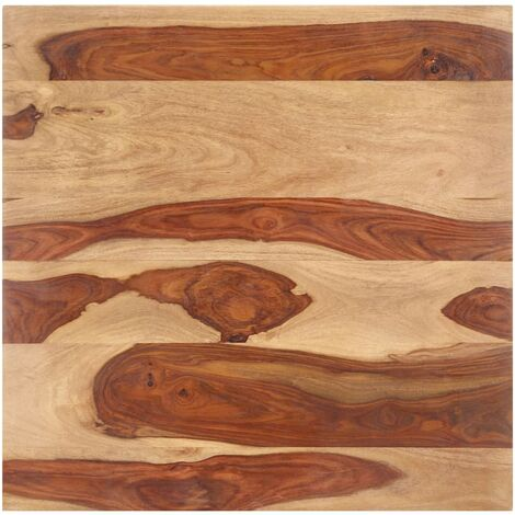 Table Top Solid Sheesham Wood 15-16 mm 60x60 cm