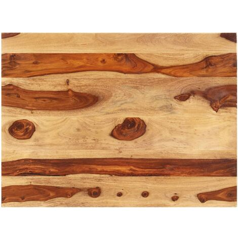 Table Top Solid Sheesham Wood 15-16 mm 60x80 cm