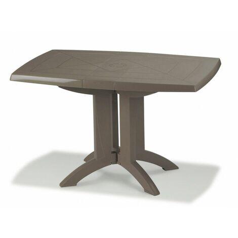 TABLE VEGA 118x77x72 cm coloris taupe - Taupe