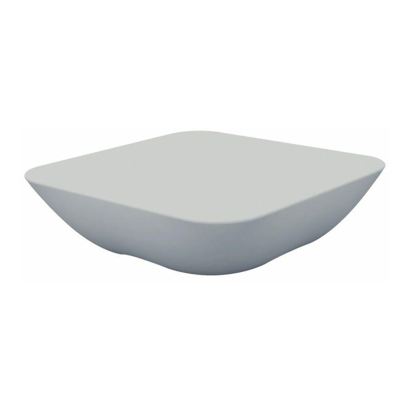 Table Pillow basse - Argent - Extérieur - Anti-dérapant - Argent - Vondom